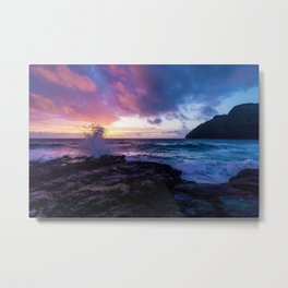Makapu'u Beach, Hawaii Metal Print