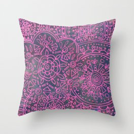 Linear No. 14 Throw Pillow