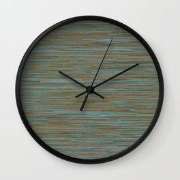 Series 7 - Oxidized Wall Clock