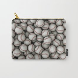 Baseballs Carry-All Pouch