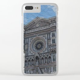 FLORENCE'S TEXTURE Clear iPhone Case