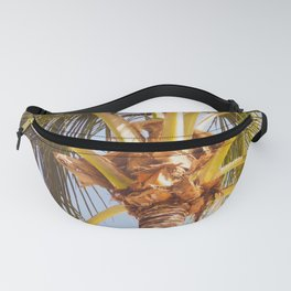 Where Are All The Coconuts? Miami Plam Trees Fanny Pack