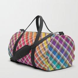 Checks In Colours Duffle Bag
