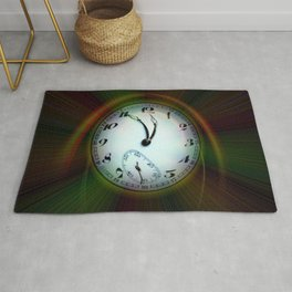 Magic of colors - Time is running out Rug