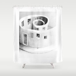 Windows of Perception Shower Curtain