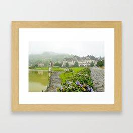 Hotel Quitandinha Framed Art Print