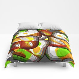 Fragmented Vision Comforters