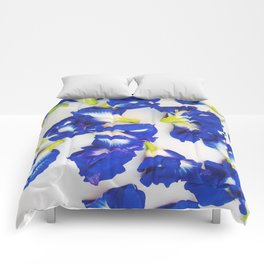 Pea Flower Comforters