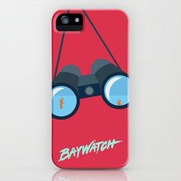 Baywatch Fan iPhone Case