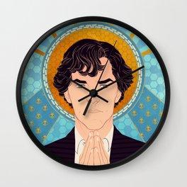 Sherlock Holmes Wall Clock