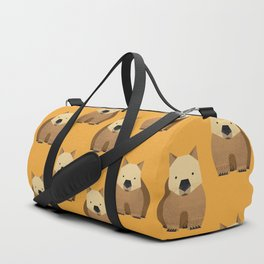Whimsy Wombat Duffle Bag