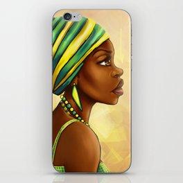 Green Yellow Wrap iPhone Skin