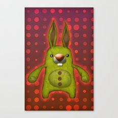 Bunny rag doll  Canvas Print