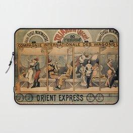 1896 Orient Express musical revue Paris Laptop Sleeve