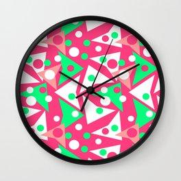 Hot Pinkness Wall Clock