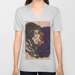 Diverse Female Love Unisex V-Neck