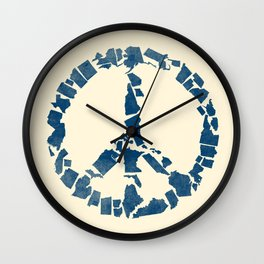 United for Peace Wall Clock