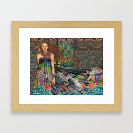 Lament For The Living Framed Art Print