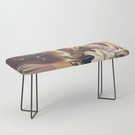 Floral beauty 3 Bench