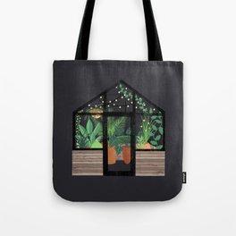 Greenhouse at Night Tote Bag