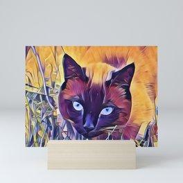 Here Kitty Kitty Kitty Mini Art Print