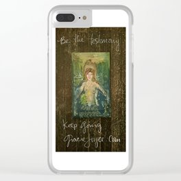 Be the Testimony Clear iPhone Case