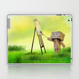 Danbo the artist Laptop & iPad Skin