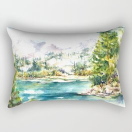 Sierra Peridot Rectangular Pillow