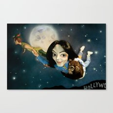 King of Neverland Canvas Print