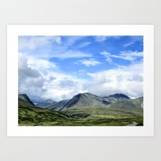 Rondane - Norway Art Print