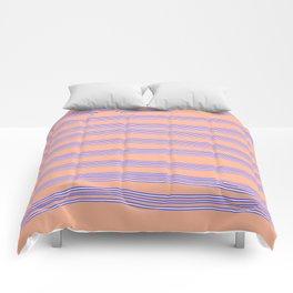 Blue lines Comforters