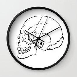 Skull 1 Wall Clock