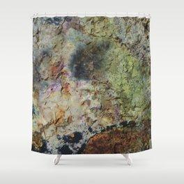 """Rusty grunge surface"" Shower Curtain"