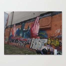 city walls Canvas Print