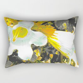 """""""Fiori della Luna"""" by ICA PAVON Rectangular Pillow"""