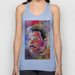 Bohemian M. Painted Unisex Tank Top