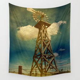 Out Texas Way Wall Tapestry