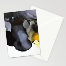 Black Ink Composition Stationery Cards