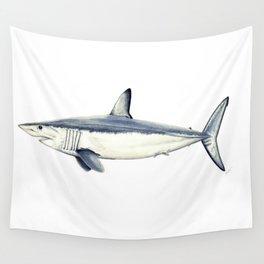Mako shark (Isurus oxyrinchus) Wall Tapestry