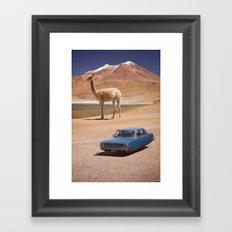 Let's Take a Photo! Framed Art Print