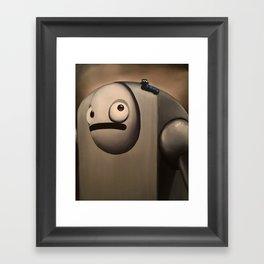 Larry the Robot Framed Art Print