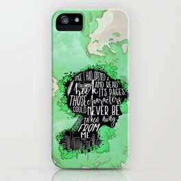 New World Rising - A Book iPhone Case