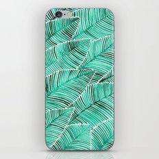 Tropical Turquoise iPhone & iPod Skin