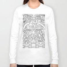 Stop The Violent Long Sleeve T-shirt