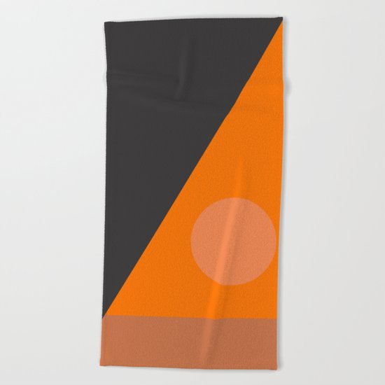 Untitled #Abstrct Beach Towel