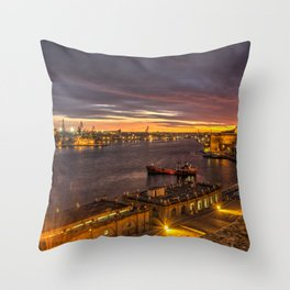 Valletta Twylight  Throw Pillow