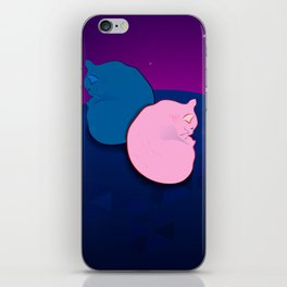 two cats iPhone Skin