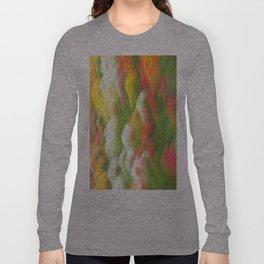 Tulip Field Abstract - Holland Michigan Long Sleeve T-shirt