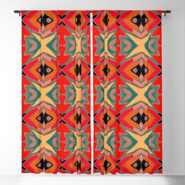 Southwest Pattern Blackout Curtain