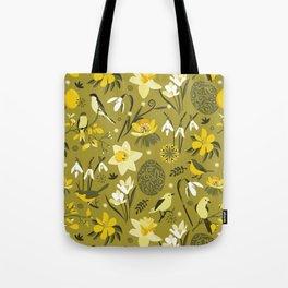 Finally Easter! [mustard] Tote Bag